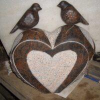 Granit fugle
